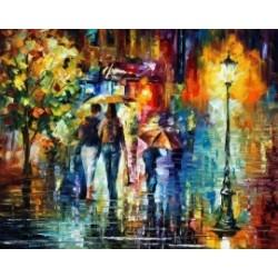 разходка в дъжда