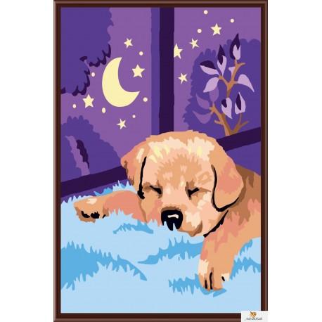 Спящо кученце