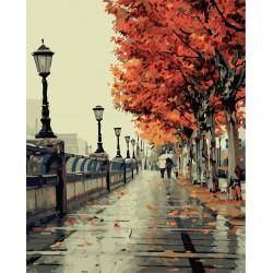 40x50 см. Есенна романтика