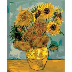 Ваза с 12 слънчогледа - Винсент ван Гог