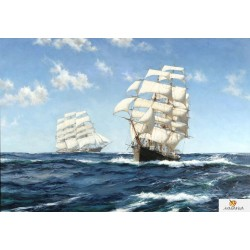 40x50 см. Кораби - Montague Dawson
