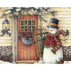 Снежен човек - Лиза Блоуерс