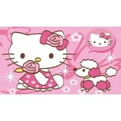 Hello Kitty с пуделче  /20х30см/