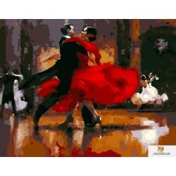 40x50 см.  Страстно танго - Raymond Leech